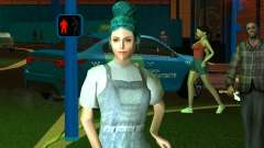Linda chica Lara para GTA San Andreas