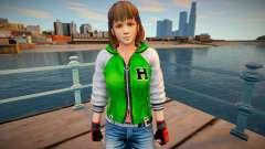 Dead Or Alive 5 - Hitomi (Costume 2) v2 para GTA San Andreas