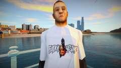 Omyst en una linda camiseta para GTA San Andreas