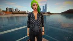 Fortnite - Toxin Fashion Casual V1 Jacket LV para GTA San Andreas