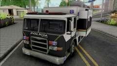 Operational Mobile Base Truck PMCE para GTA San Andreas