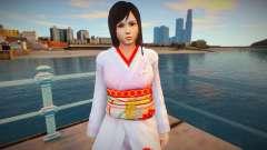 Dead Or Alive 5 - Kokoro (Costume 1) v1 para GTA San Andreas