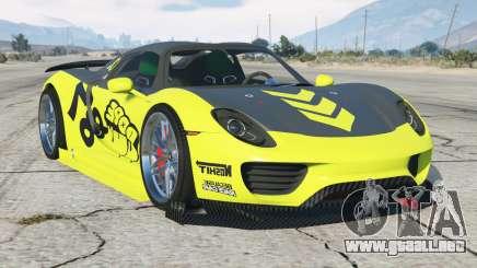 Porsche 918 Spyder Quimera One〡add-on para GTA 5