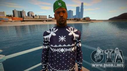 Dulce en un suéter de invierno para GTA San Andreas
