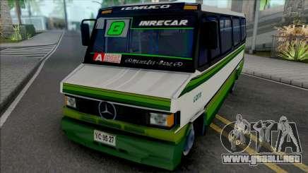 Mercedes-Benz LO 809 Skin L8 Temuco para GTA San Andreas