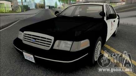 Ford Crown Victoria 1998 CVPI LAPD GND v2 para GTA San Andreas