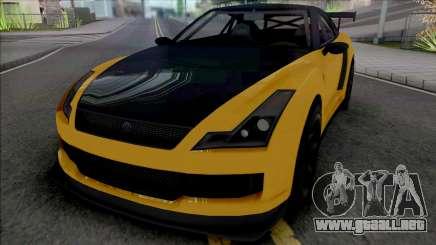 Annis Elegy RH8 [SA Plate] para GTA San Andreas