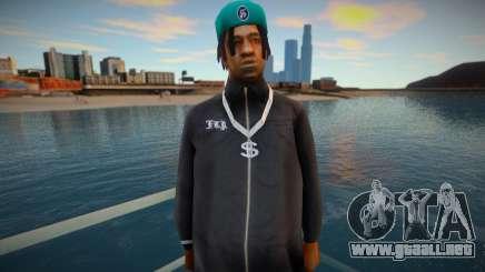 Fam2 - Hood para GTA San Andreas