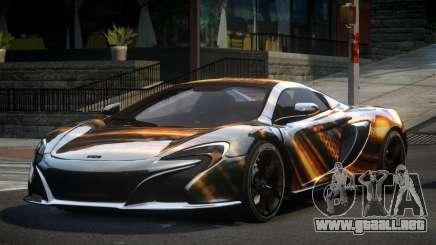 McLaren 650S BS S9 para GTA 4