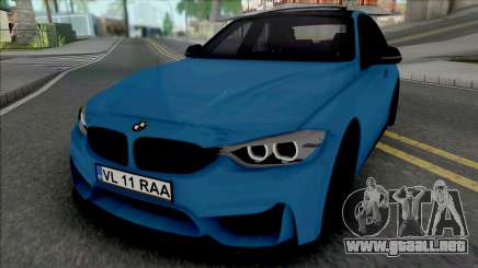 BMW F30 320d (M3 Style Bumpers) para GTA San Andreas