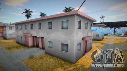 Casa pobre con gueto para GTA San Andreas