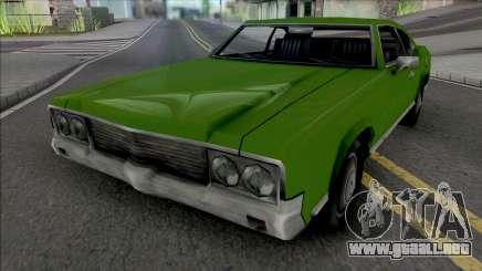 El Sabre Verde para GTA San Andreas