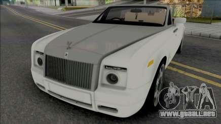 Rolls-Royce Phantom Coupe para GTA San Andreas