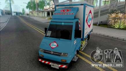 Sweeper Minitruck para GTA San Andreas