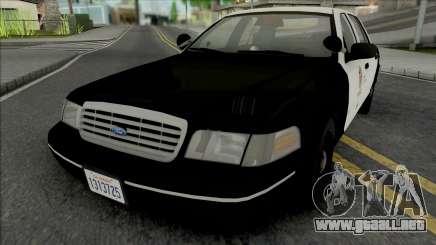 Ford Crown Victoria 1998 CVPI LAPD GND para GTA San Andreas