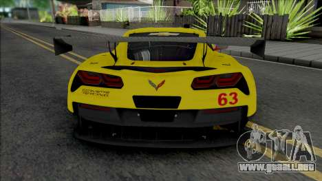 Chevrolet Corvette C7.R 2016 para GTA San Andreas