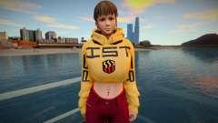 DOA Hitomi Fashion Casual DLC Los Santos Tuner 1 para GTA San Andreas