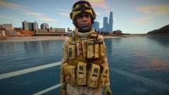 Call Of Duty Modern Warfare 2 - Desert Marine 1 para GTA San Andreas