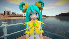 PDFT Hatsune Miku Fairy para GTA San Andreas