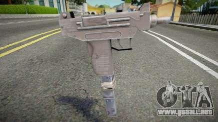 Remastered Micro Uzi para GTA San Andreas