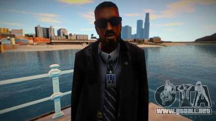 New FBI skin 1 para GTA San Andreas