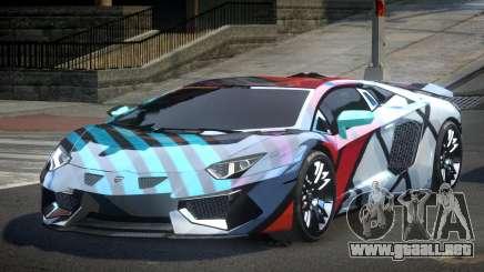 Lamborghini Aventador PSI Qz S9 para GTA 4