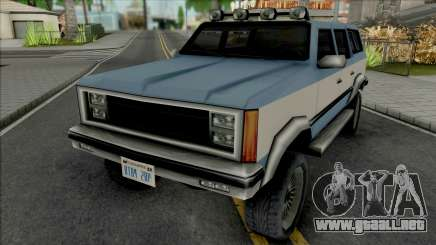 Rancher XL 1984 para GTA San Andreas