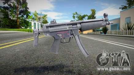 Remaster Mp5LNG para GTA San Andreas