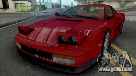 Ferrari Testarossa 1988 para GTA San Andreas