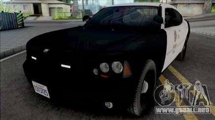 Dodge Charger 2007 LAPD GND v2 para GTA San Andreas