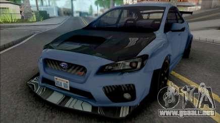 Subaru WRX STI Tuning para GTA San Andreas