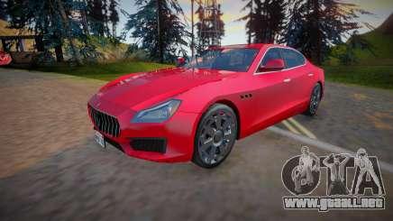 2018 Maserati Quattroporte (Low Poly) para GTA San Andreas