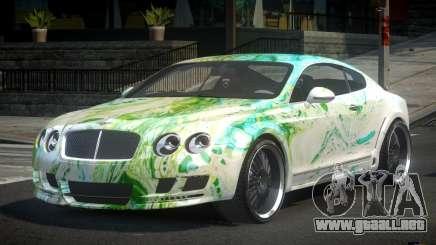 Bentley Continental ERS S1 para GTA 4