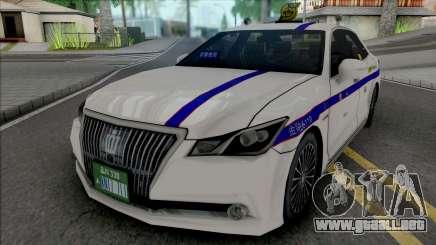 Toyota Crown Majesta 2014 Private Taxi para GTA San Andreas