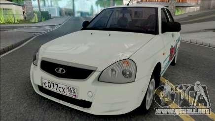 VAZ-2170 Priora ClubTurbo para GTA San Andreas