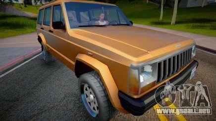 Jeep Grand Cherokee 1998 (Low Poly) para GTA San Andreas