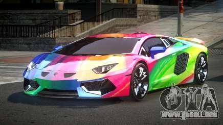 Lamborghini Aventador PSI Qz S5 para GTA 4