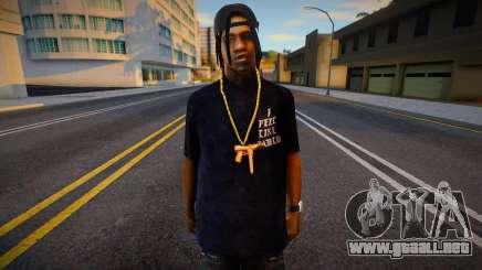 Fam 2 Style para GTA San Andreas