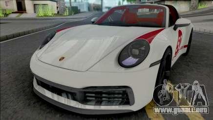 Porsche 911 Targa 4S 2022 para GTA San Andreas