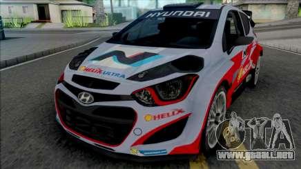 Hyundai i20 WRC [IVF] para GTA San Andreas
