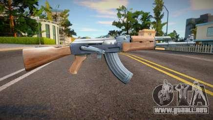 Improved AK47 para GTA San Andreas