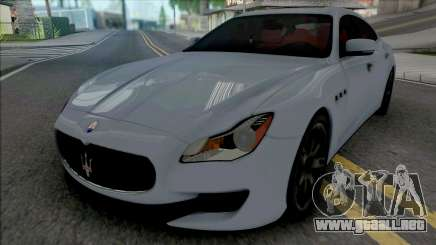 Maserati Quattroporte GTS 2015 (IVF Lights) para GTA San Andreas