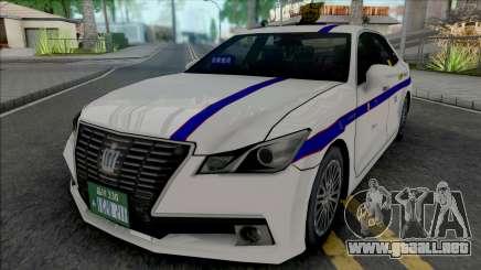 Toyota Crown Royal Saloon 2013 Private Taxi para GTA San Andreas