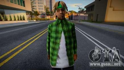 FAM2 new skin para GTA San Andreas