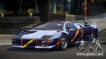 Lamborghini Diablo U-Style S4 para GTA 4