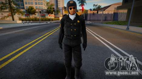 Lei Supercop (with helmet) para GTA San Andreas