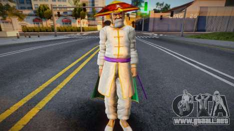 Dead Or Alive 5 - Gen Fu (Costume 1) 1 para GTA San Andreas