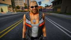 Dead Or Alive 5 - Bass Armstrong (Costume 1) 3 para GTA San Andreas