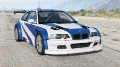 BMW M3 GTR (E46) Más buscado〡add-on v2.2b para GTA 5