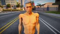 Jyungi Shirtless Yakuza para GTA San Andreas